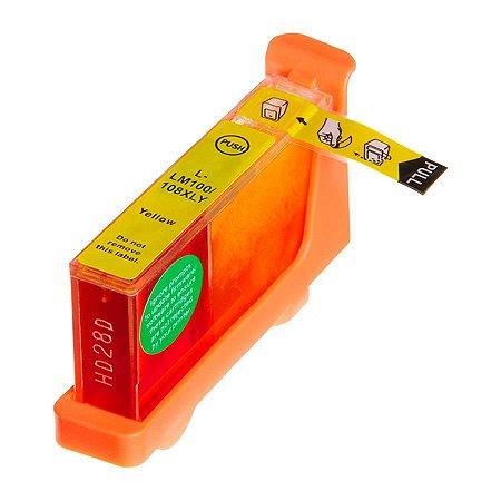 Cartucho de Tinta Compatível Lexmark 100xl (14N1071) Yellow 11,5ml