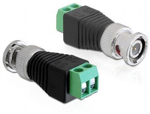 Conector Bnc com Borne Macho - Unid