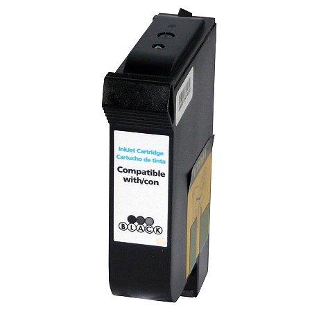 Cartucho de Tinta Compatível HP 45 (51645) Preto 40ml