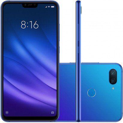 Smartphone Xiaomi Mi 8 Lite Dual Chip 128GB Aurora Azul