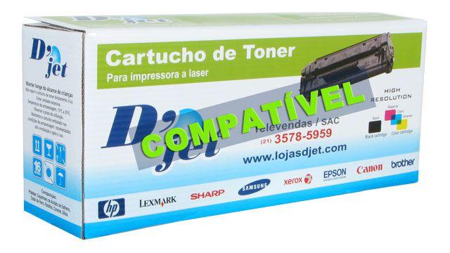 Cartucho de Toner Compatível Hp Cf510a Preto