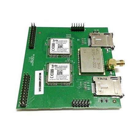 Placa Expansão GSM 4 Canais UNNIT 2000/3000 - Intelbras