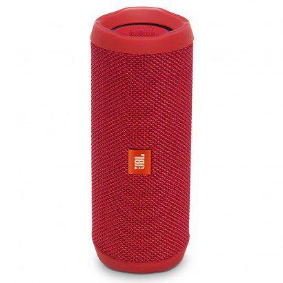 Caixa de Som JBL Flip 4 Bluetooth à Prova D'água Vermelho