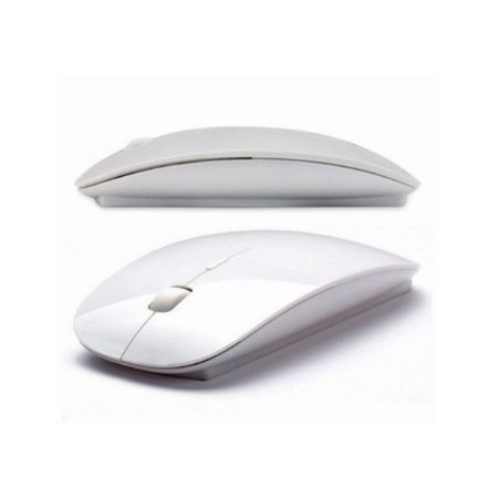 Mouse sem Fio 2.4ghz 1600dpi Branco - Haoqing