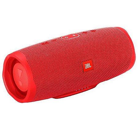 Caixa de Som JBL Charge 4 Bluetooth à Prova D'água Vermelho