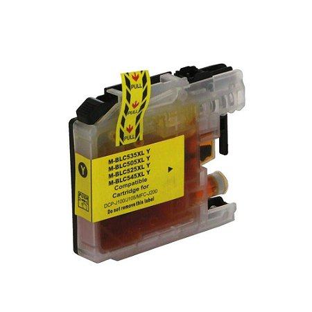 Cartucho de Tinta Compativel Brother LC505/509xl Amarelo 11ml
