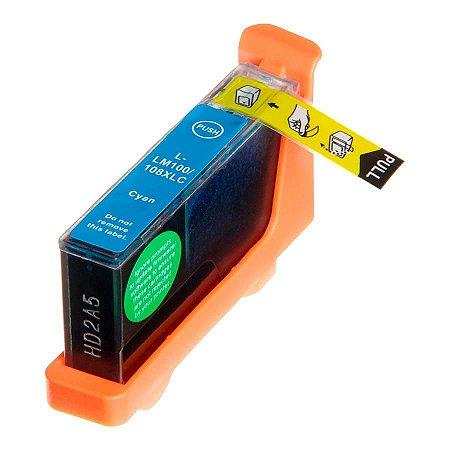 Cartucho de Tinta Compativel Lexmark 100xl (14N1069) Ciano 11,5ml