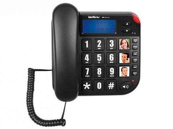 Telefone com Fio Tok Facil Id - Intelbras