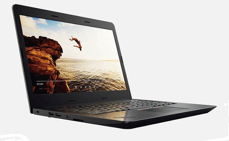 "Notebook ThinkPad E470 i3-6006U 4GB 500GB 14"" HD Preto -  Lenovo"