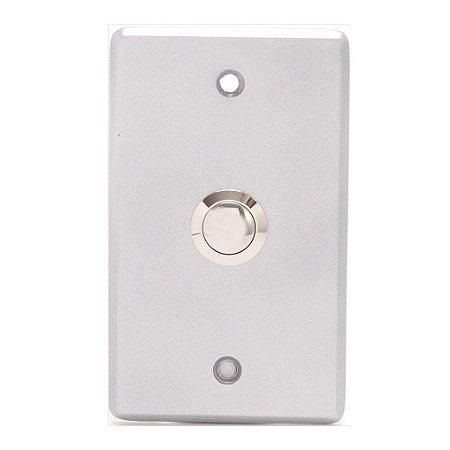 Botão de Saída Inox com Moldura ac6091 Intelbras
