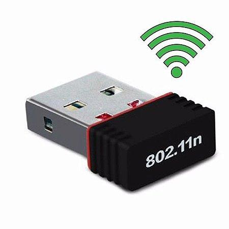 Adaptador Usb Wireless 802.IIN 300Mbps sem Antena