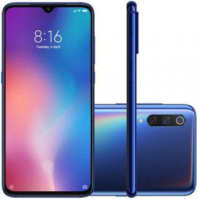 Smartphone Xiaomi Mi 9 Dual Chip 128GB Azul