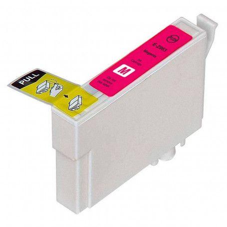 Cartucho de Tinta Compatível Epson 296 (T2963) Magenta 13,5ml