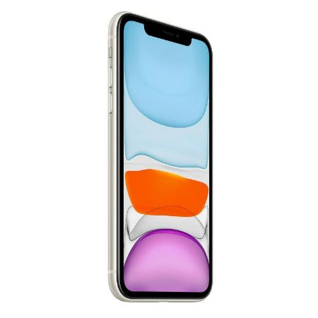 "iPhone 11 Apple 64GB Branco 4G Tela 6,1"" Retina Câmera Dupla 12MP + Selfie 12MP iOS 13"