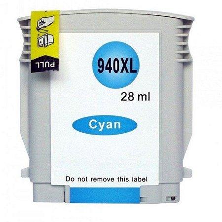 Cartucho de Tinta Compatível HP 940xl (C4903) Ciano 28ml