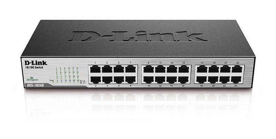 Switch Des-1024d 24 Portas 10/100 - D-Link