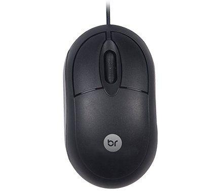 Mouse Standard Preto USB - Bright