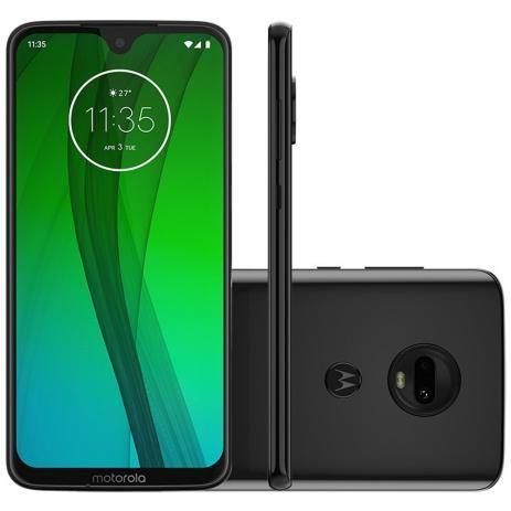 "Celular Motorola Moto G7 64Gb 4Gb 6.24"" 12Mp+5Mp 8Mp - Onix"
