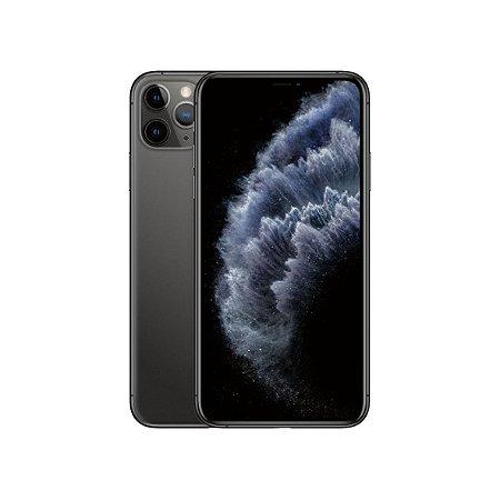 "iPhone 11 Pro Max Apple 256GB Tela 6,5"" iOS 13 Tripla Câmera Traseira Resist à Água Preto"