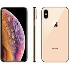 "iPhone XS Apple 64GB Dourado 4G Tela 5,8"" Retina Câmera Dupla 12MP + Selfie 7MP iOS 12"