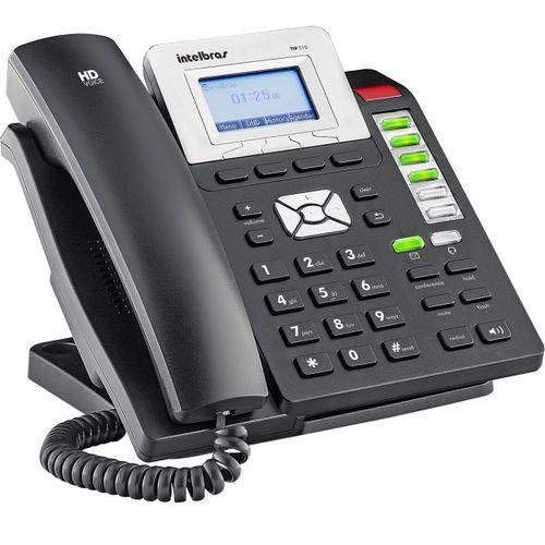 Telefone Ip Hd Voice Tip 210 - Intelbras