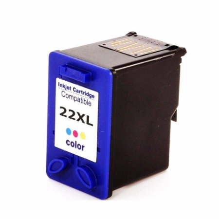Cartucho de Tinta Compatível HP 22xl (9352) Colorido 14ml