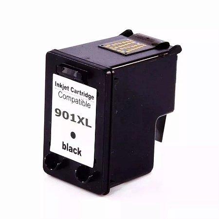Cartucho de Tinta Compatível HP 901xl (CC654) Preto 20ml