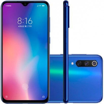 Smartphone Xiaomi Mi 9 SE Dual Chip 128GB Azul Ocean Blue