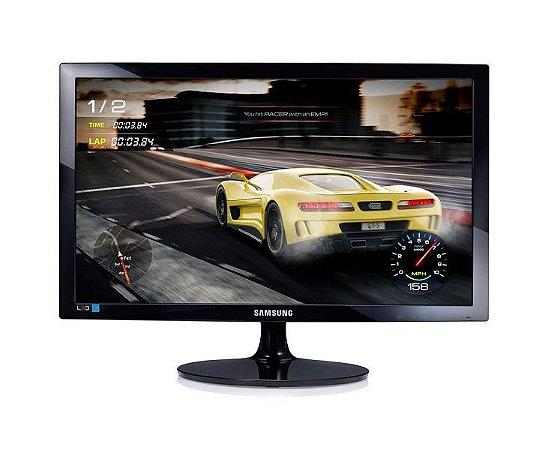 "Monitor Led 24"" LS24D332HSX/ZD - Samsung"