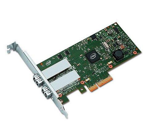 Placa de Rede I350-F2 Dual Port SFP Fibra Gigabit 1000 - Intel