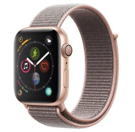 Apple Watch Series 4 GPS 44mm Gold Case Pink Sport Band