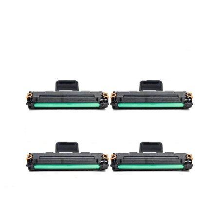 Kit 04 Cartuchos de Toner Compatível Samsung Ml1610