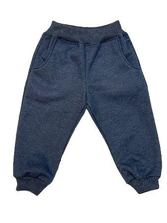 Calça Moletom Azul Jeans