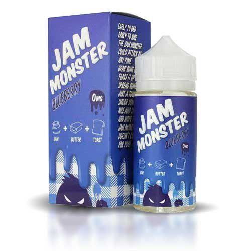 Líquido Jam Monster Blueberry - 100ml