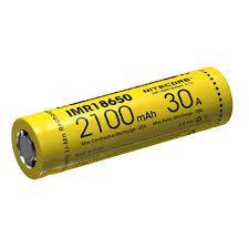 Bateria Recarregável 18650 IMR 38A 2100mAh - Nitecore