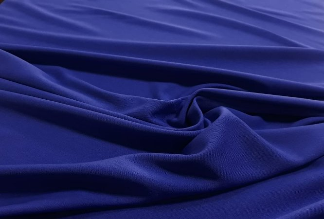 Tecido Crepe zara - Azul royal  MT