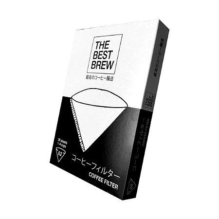 Filtro Branco The Best Brew - 02 – 30 un