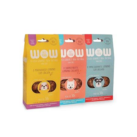Kit de petiscos de lombinho para cães