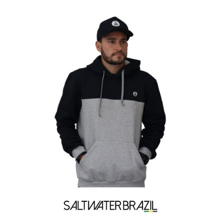 Moletom Half and Half Salt Water Brazil