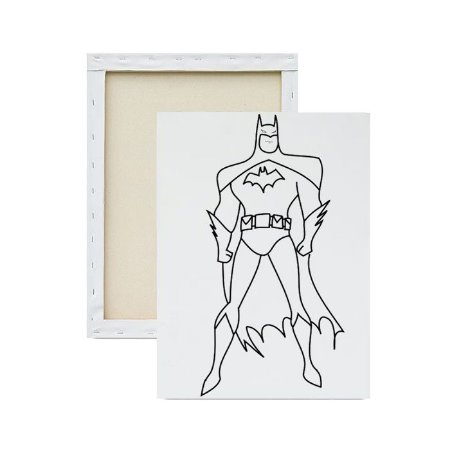 Tela para pintura infantil - Batman