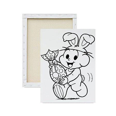 Tela para pintura infantil - Cebolinha de Coelhinho
