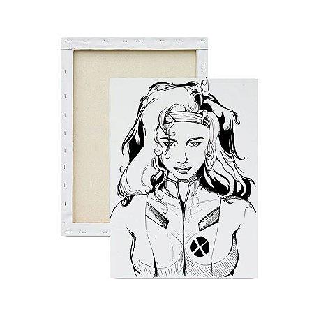 Tela Para Pintura Infantil - Jean Grey
