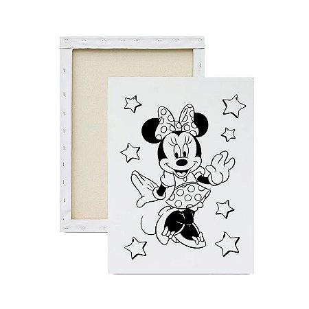 Tela Para Pintura Infantil - Minnie
