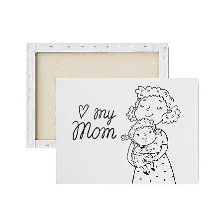 Tela Para Pintura Infantil - My Mom