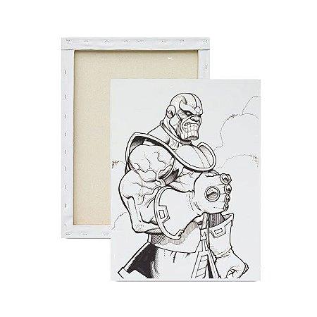 Tela Para Pintura Infantil - Thanos