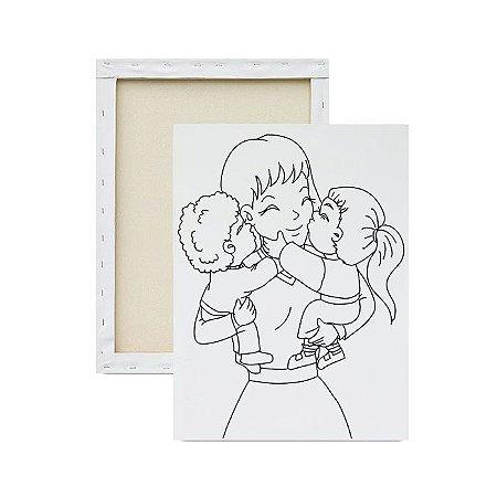 Tela Para Pintura Infantil - Xoxo