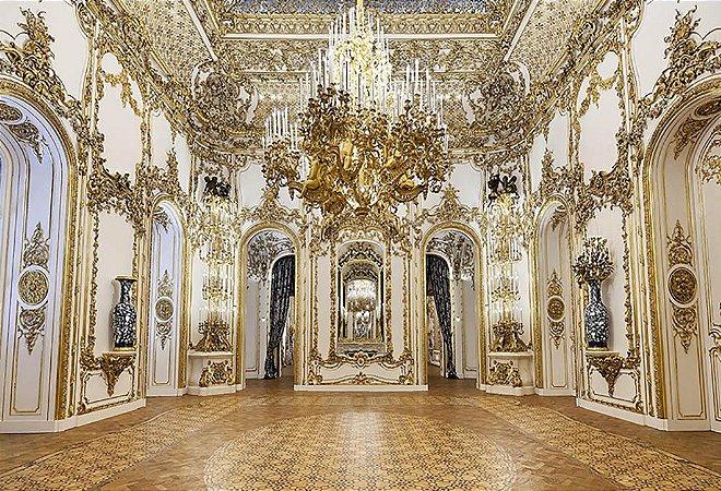 Painel de Festa em Tecido Sublimado 3d Hall Palácio