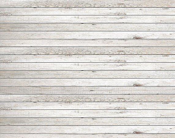 Painel de Festa em Tecido Sublimado 3d Madeira Branca