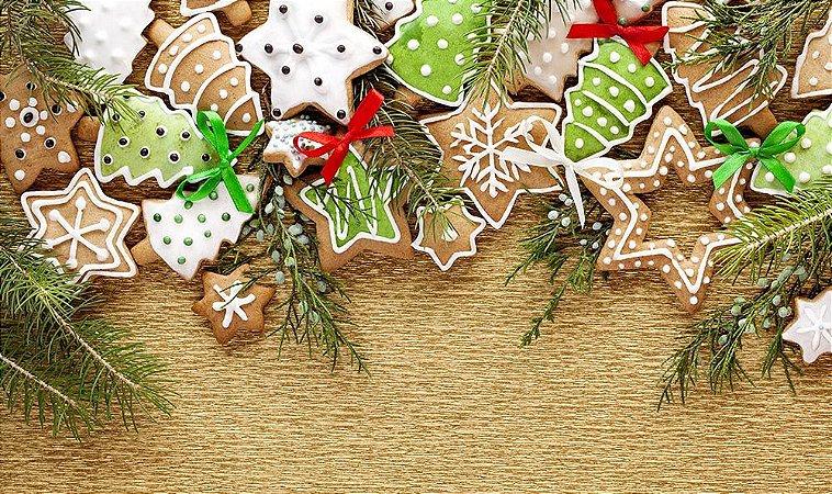 Painel de Festa em Tecido Sublimado Natal Mod2