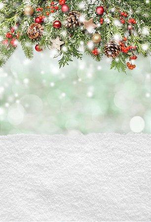 Fundo Fotográfico em Tecido Sublimado Natal Mod2